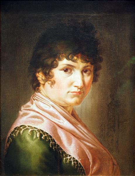 Pauline Runge, the Artist's Wife - Philipp Otto Runge