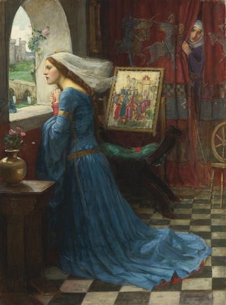 Fair Rosamund, c.1916 - 约翰·威廉姆·沃特豪斯