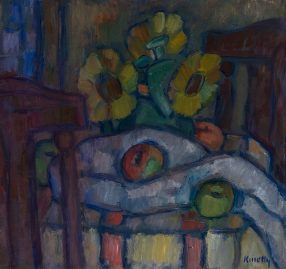 Still LIfe with Sunflowers, c.1940 - Kmetty János