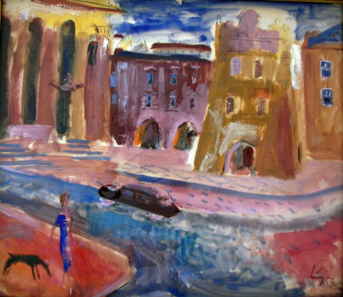 Memory of Prague, 1957 - Rudolf LÁNG