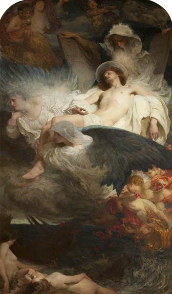 An Allegory - Solomon Joseph Solomon