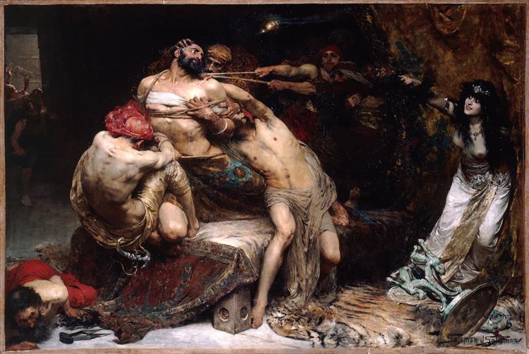 Samson (1887) - Solomon Joseph Solomon