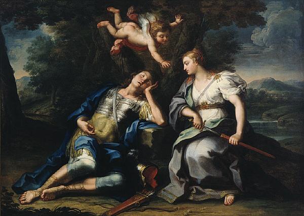 Rinaldo and Armida - Sebastiano Conca