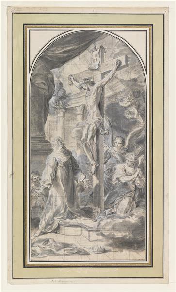 Vision of the Crucifixion, 1730 - Sebastiano Conca