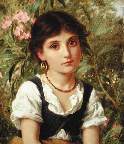 Far Away Thoughts - Sophie Gengembre Anderson