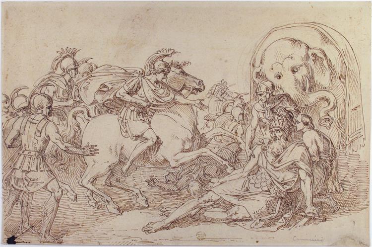 Alexander and Porus - Vincenzo Camuccini