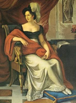 Portrait of Lucia Migliaccio - Vincenzo Camuccini