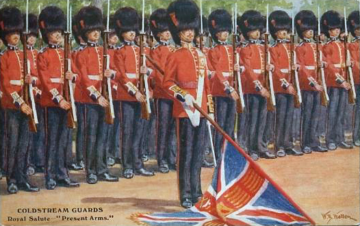 Coldstream Guards on Parade - William Barnes Wollen