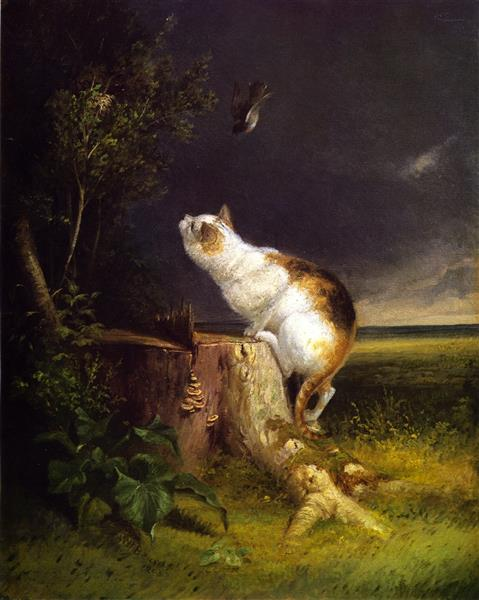 The Birdwatcher, 1863 - William Holbrook Beard