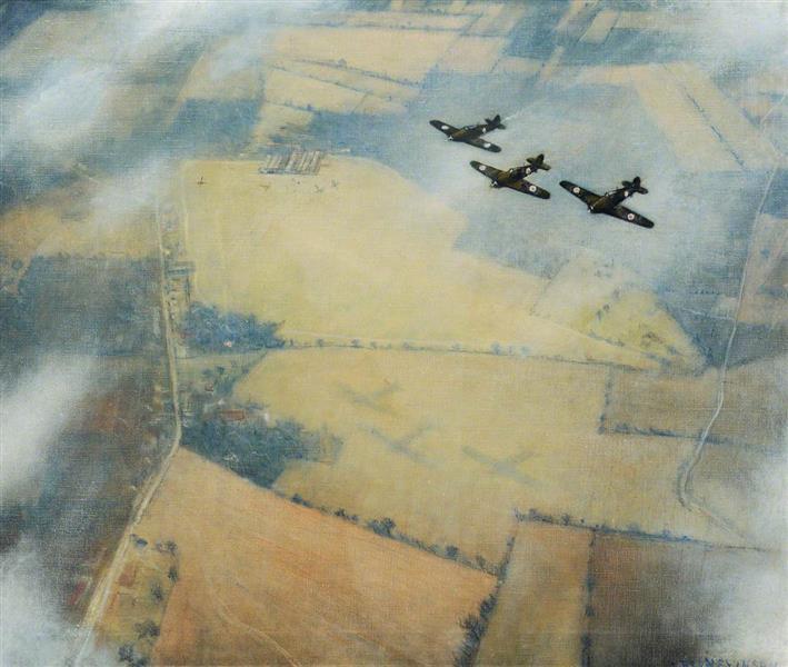 Three Aircraft, 1940 - C.R.W. Nevinson
