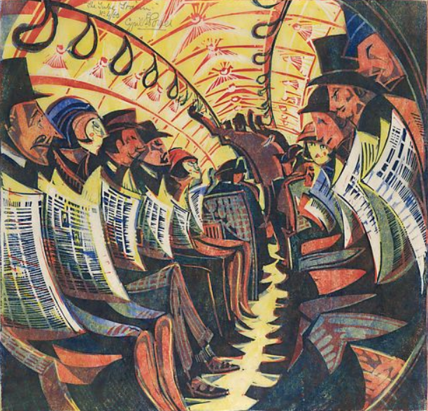 The tube train, 1934 - Cyril Power
