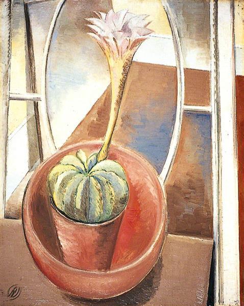 Cactus, 1928 - Paul Nash