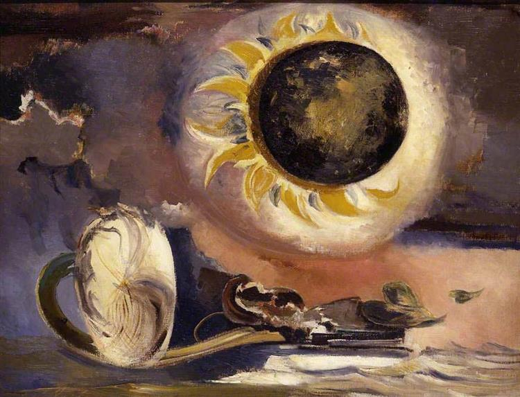 Eclipse of the Sunflower, 1945 - Paul Nash