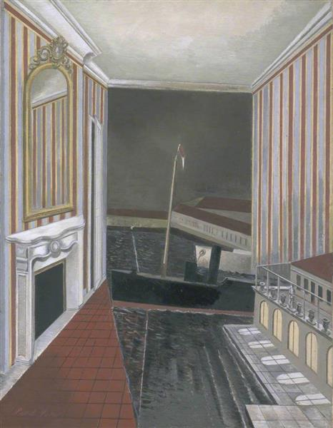 Harbour and Room, 1932 - 1936 - Paul Nash