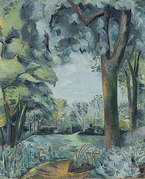 Landscape (verso) - Paul Nash