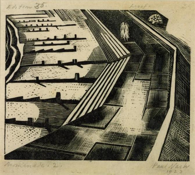 Promenade II, 1920 - Paul Nash