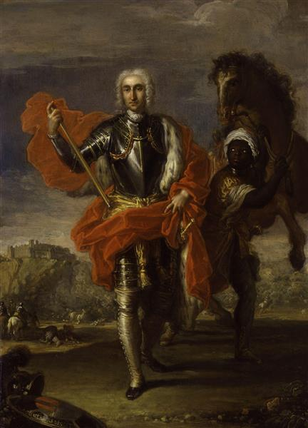 Portrait of George Keith, 10th Earl Marischal, 1752 - Placido Costanzi
