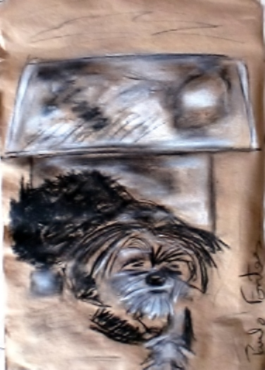Uma cadela, 2011 - Paulo Fontes