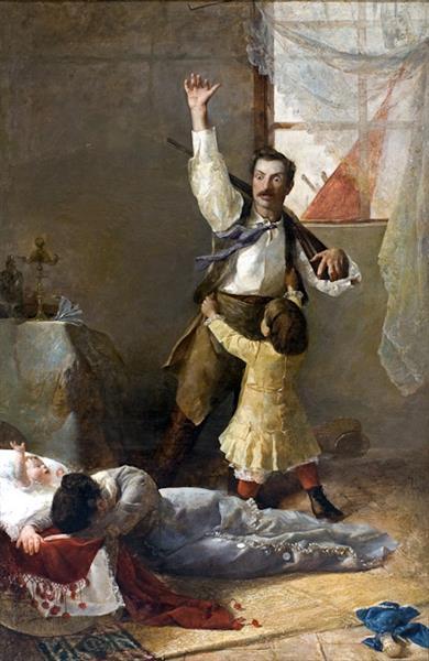 A La Guerra!, 1885 - José Garnelo