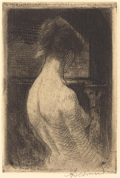 Back of a Woman, 1889 - Paul-Albert Besnard