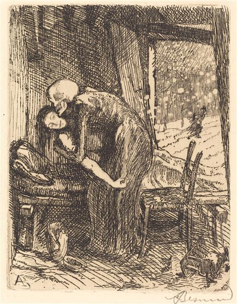 Charitable, 1900 - Paul-Albert Besnard