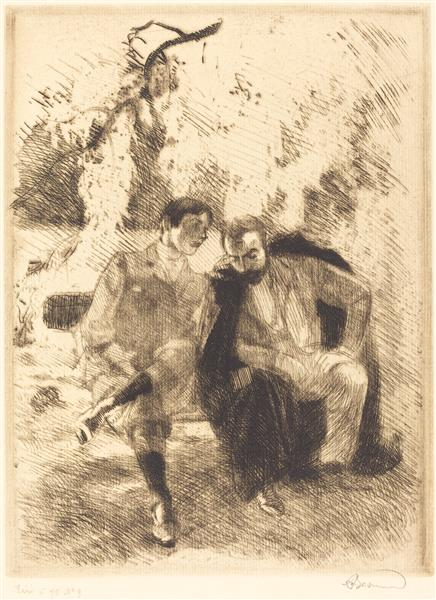 Confidences, 1900 - Paul-Albert Besnard
