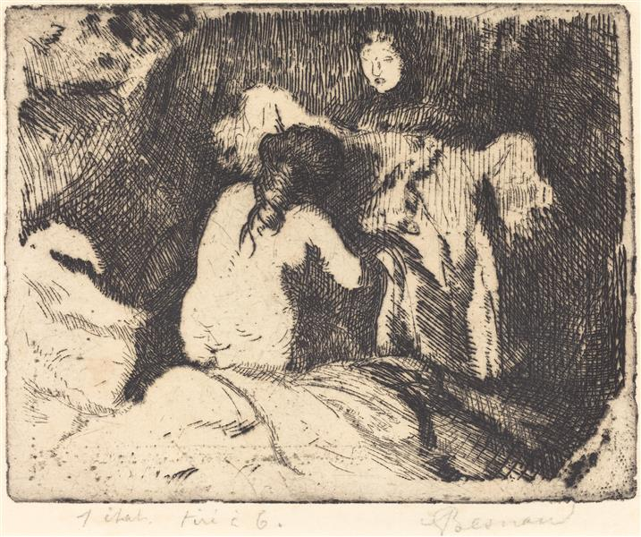 Getting up, 1913 - Paul-Albert Besnard