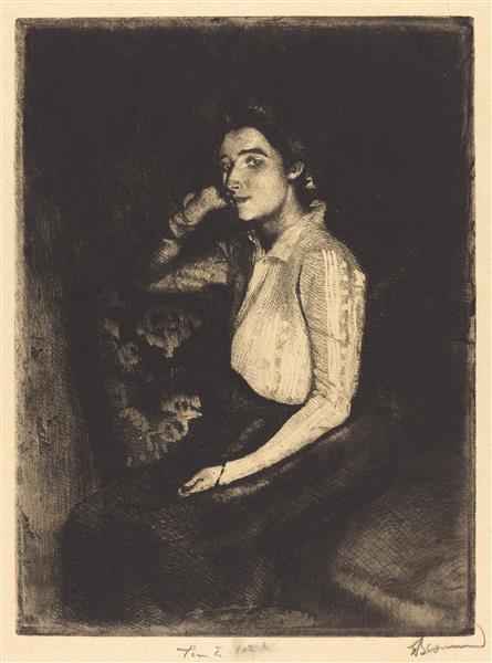 La Biarrote, 1901 - Paul-Albert Besnard