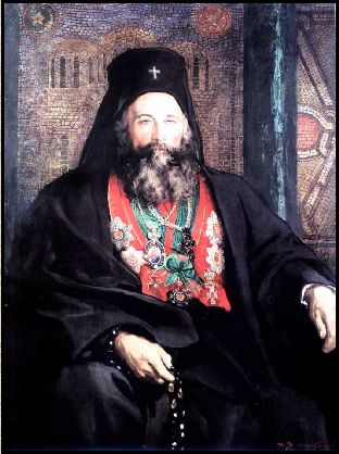 Portrait of Joseph I of Bulgaria - Ivan Mrkviсka