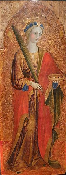Saint Lucy, c.1430 - Álvaro Pires de Évora