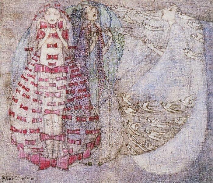 Bows, Beads and Birds - Frances Macdonald
