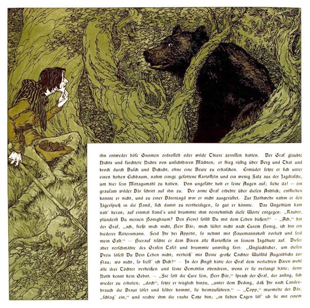 Die Bucher Der Chronika Der Drei Schwestern 1, c.1900 - Heinrich Lefler