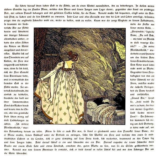 Die Bucher Der Chronika Der Drei Schwestern 8, c.1900 - Heinrich Lefler