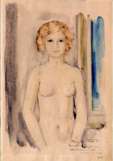 Desnudo femenino, 1931 - Carmen Osés Hidalgo