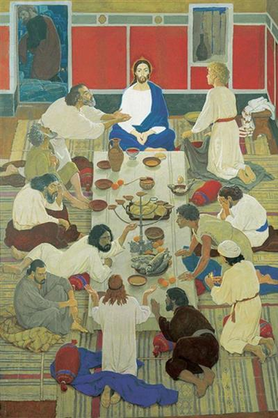 Last Supper, 2000 - Dmitri Zhilinsky