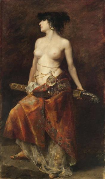 Salome, c.1888 - Francesc Masriera