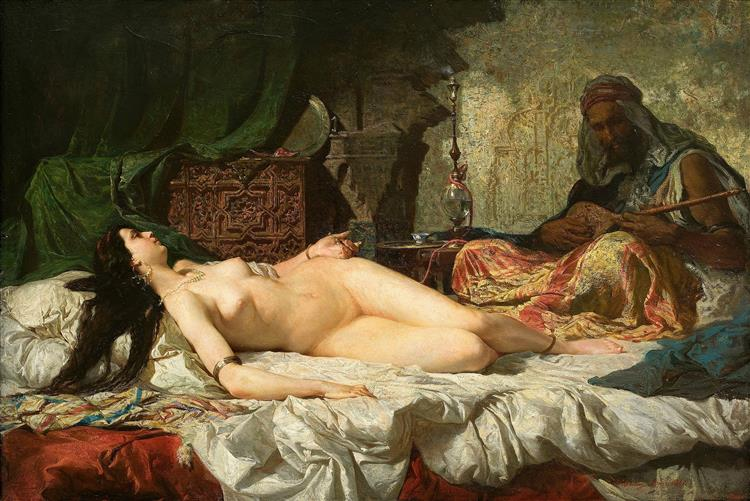 The Odalisque, c.1861 - Marià Fortuny