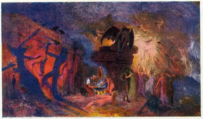 Witches' Dance - Hermann Hendrich