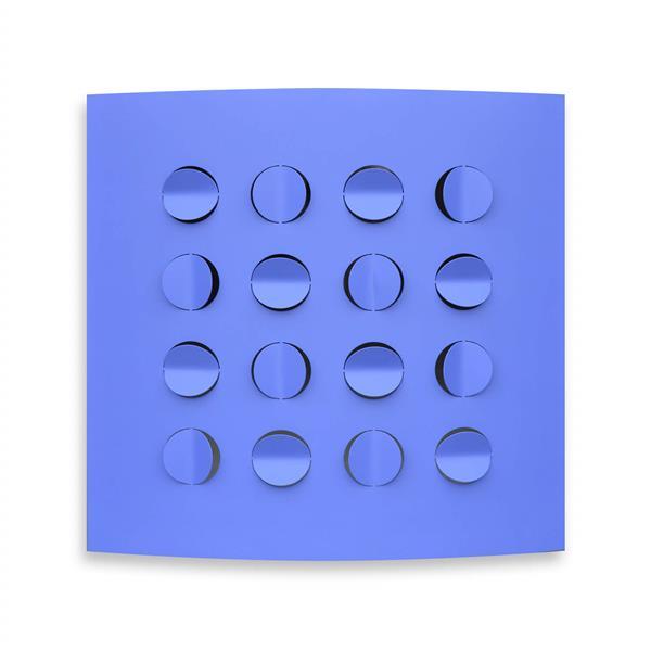 BLUE FOLDS, 2015 - Rashid Al Khalifa