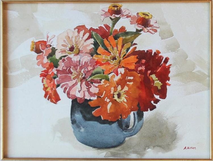 Vase with Flowers - Адольф Гітлер