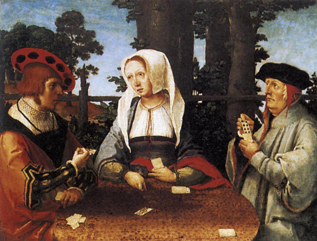 Card Players, 1525 - Lucas van Leyden