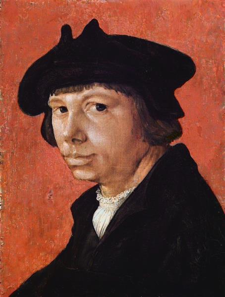 Self-portrait, c.1526 - Lucas van Leyden
