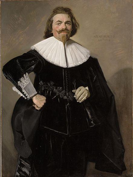 Portrait of Tieleman Roosterman, 1634 - Frans Hals