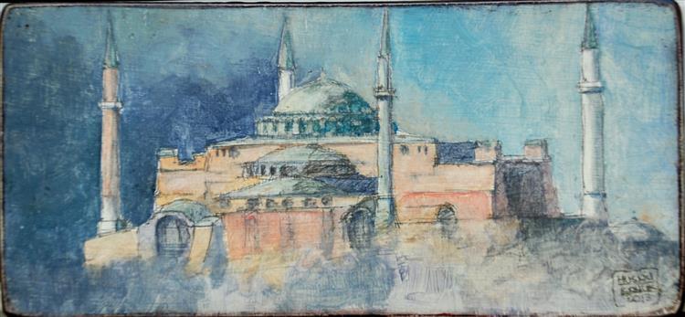 Hagia Sophia, 2015 - Husnu Konuk