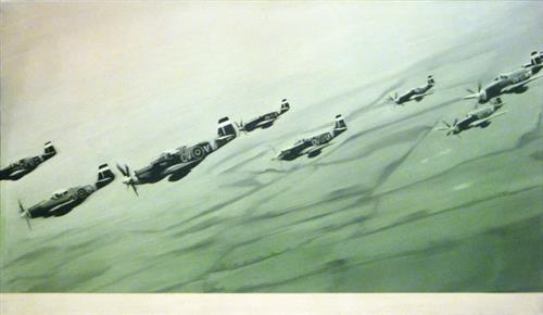 Mustang Staffel, 1964 - Gerhard Richter