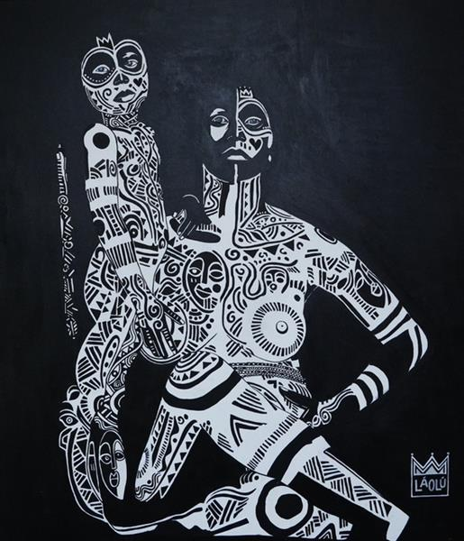 Abiyamo Tooto, 2017 - Laolu Senbanjo