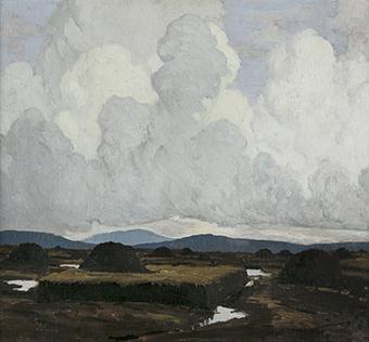 The Bog Cutting, 1918 - Paul Henry