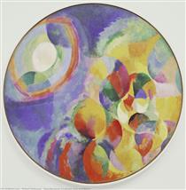 Contrasti simultanei: sole e luna - Robert Delaunay