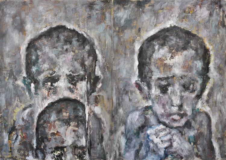 Children With no Name III, 2008 - Carmen Delaco