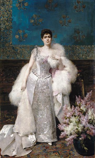 Francisca Aparicio Y Mérida, Marquesa Consorte De Vistabella, 1892 - Francisco Masriera